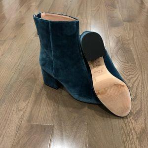 J. Crew Shoes - J.Crew Sadie ankle boots in velvet